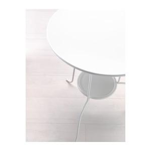 Kovový stolík
